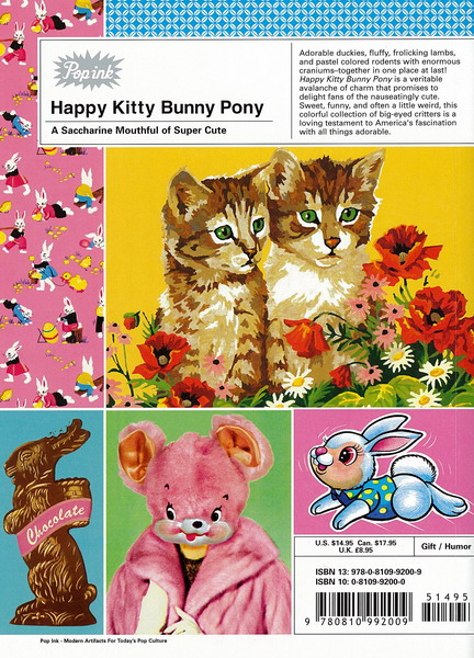 Happy kitty bunny pony