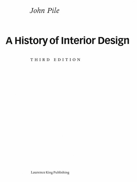 A history of interior design tcdc resource center for History of interior design