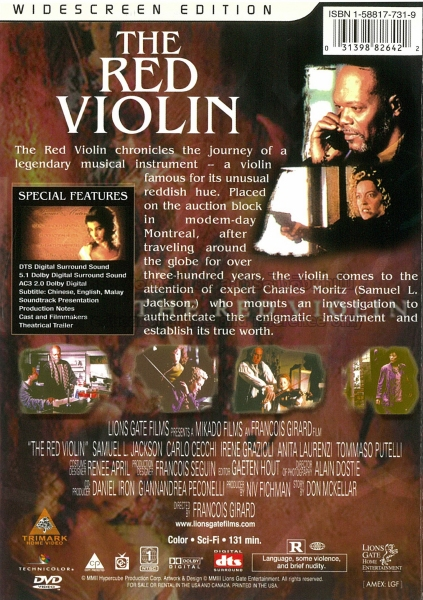 the red violin cast