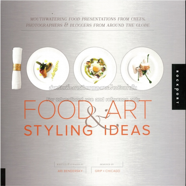 Food Book Cover Ideas ~ Food art styling ideas tcdc resource center
