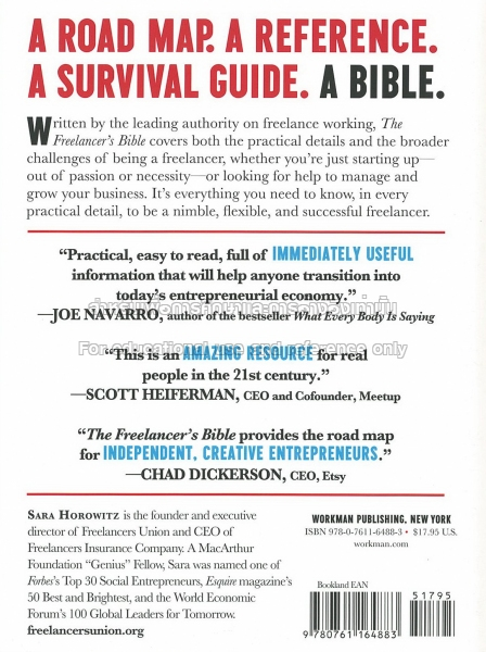 The Freelancers Bible Tcdc Resource Center
