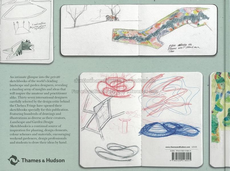 Landscape and garden design sketchbooks TCDC Resource Center