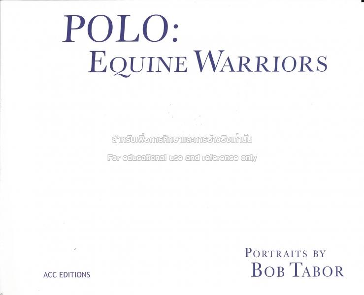 polo equine warriors