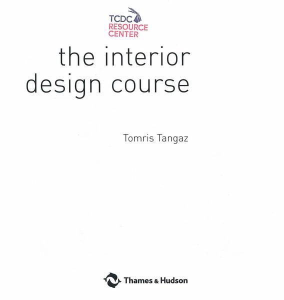 Interior Design Course Tcdc Resource Center